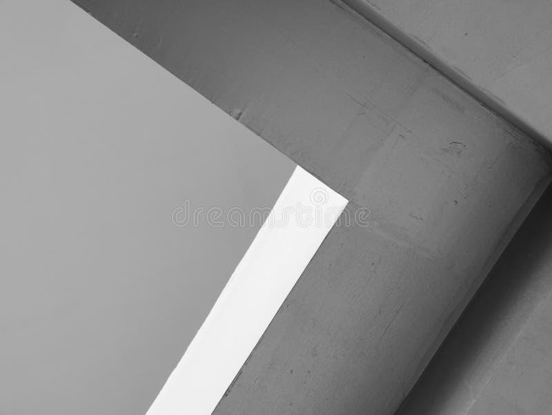 Líneas abstractas de la arquitectura del fondo Detalle moderno de la configuración Fragmento refinado del buil interior/público c foto de archivo libre de regalías