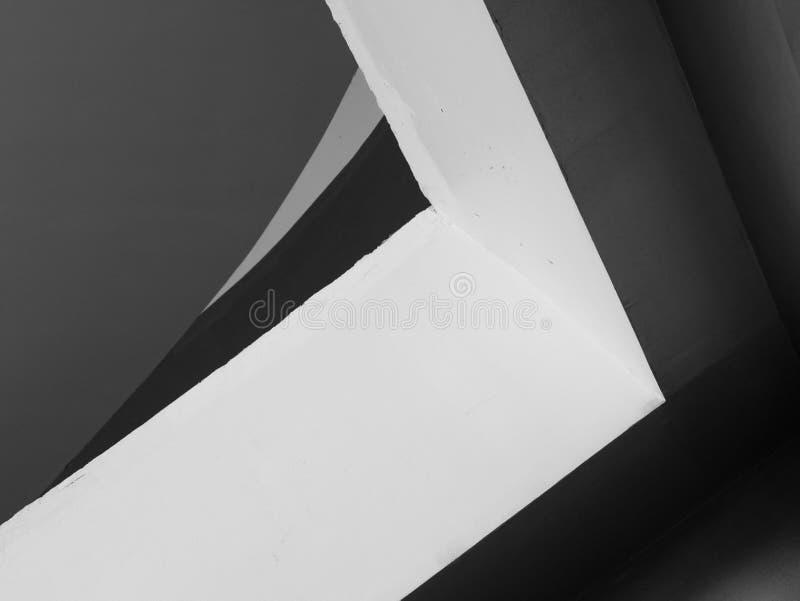 Líneas abstractas de la arquitectura del fondo Detalle moderno de la configuración Fragmento refinado del buil interior/público c imágenes de archivo libres de regalías