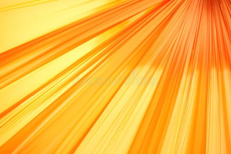 Líneas anaranjadas ilustración del vector