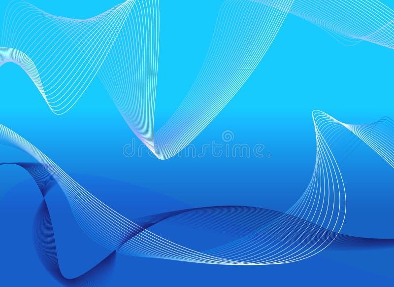 Líneas azules imagen de archivo