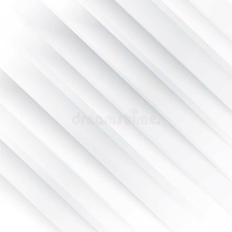 Líneas blancas del extracto del fondo del vector ilustración del vector