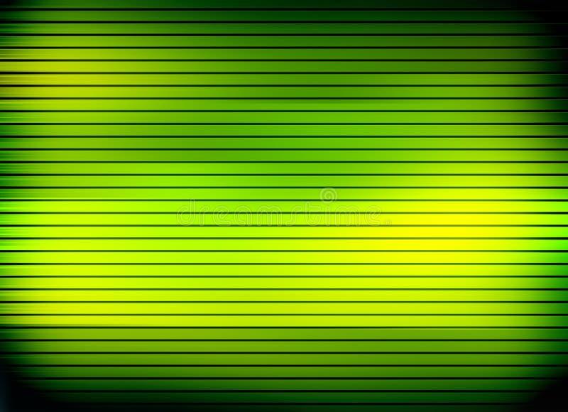 Líneas brillantes verdes libre illustration