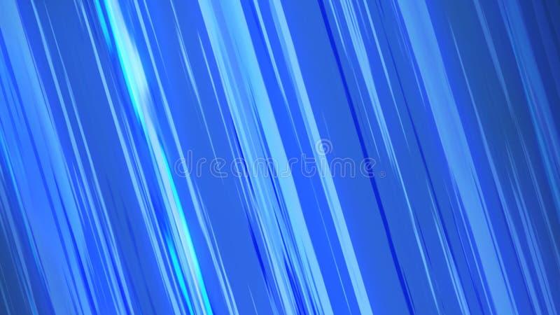 Líneas cómicas azules efecto de la velocidad del modelo de la textura del fondo en concepto de la historieta stock de ilustración