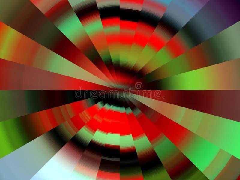 Líneas circulares suaves anaranjadas verdes vivas elegantes fondo, gráficos, fondo abstracto y textura libre illustration