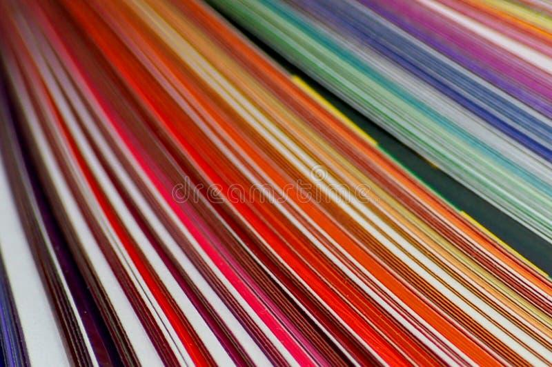 Líneas coloreadas anaranjadas fotos de archivo