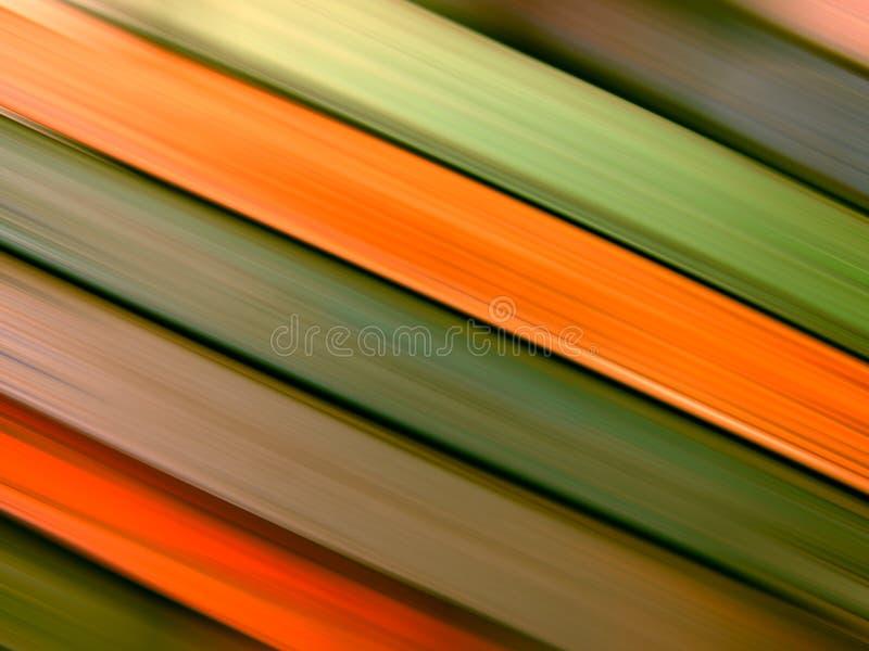 Líneas coloreadas en el movimiento fotografía de archivo