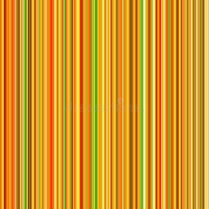 Líneas de color anaranjadas vibrantes. stock de ilustración