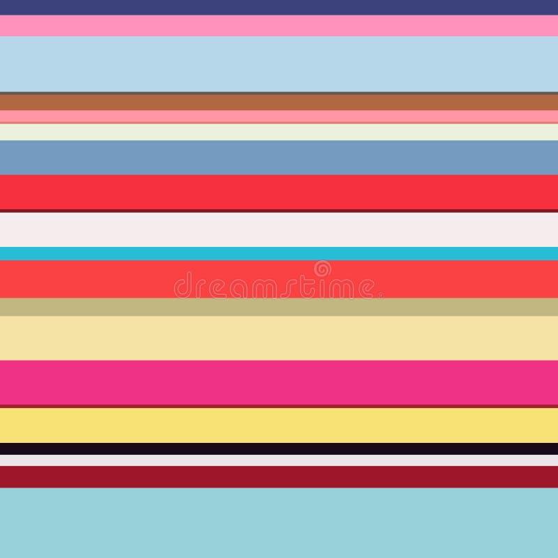 Líneas de color fondo stock de ilustración