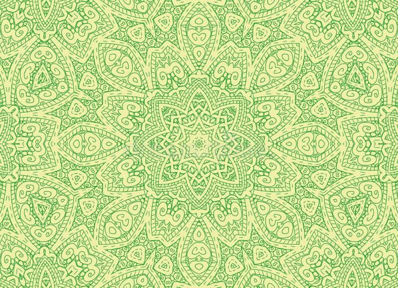 Líneas de dibujo modelo abstracto concéntrico ilustración del vector