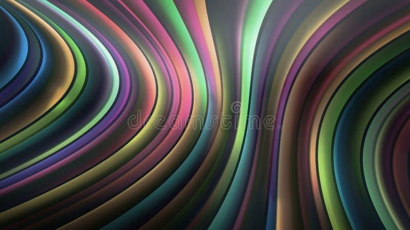 Líneas de la abstracción fotografía de archivo libre de regalías