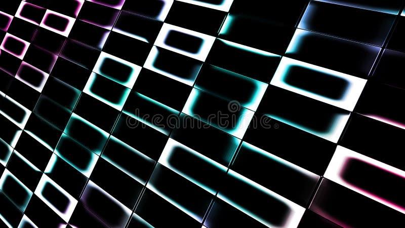 Líneas de la abstracción fotos de archivo