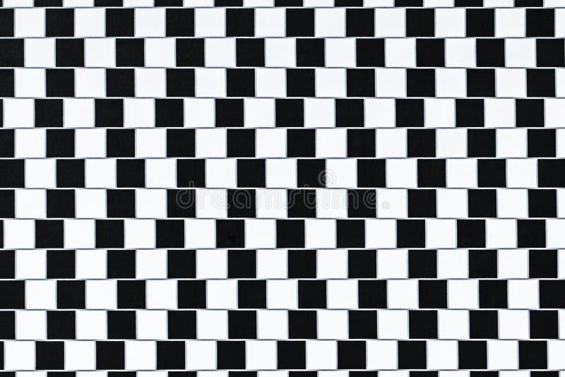 Líneas de la ilusión óptica fotografía de archivo libre de regalías