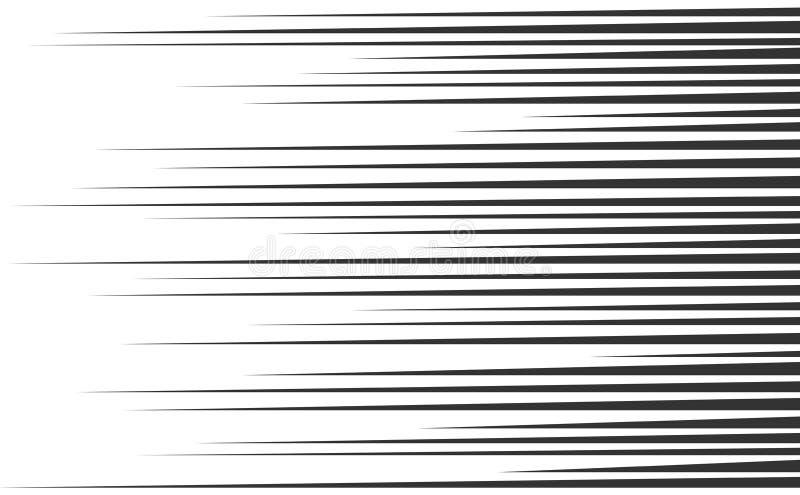 Líneas de la velocidad fijadas libre illustration
