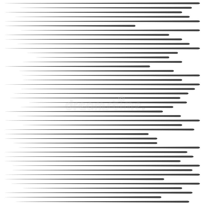 Líneas de la velocidad Partículas flotantes Rayos de Sun de la textura de Manga del sello de la lucha o explosión gráficos de la  libre illustration