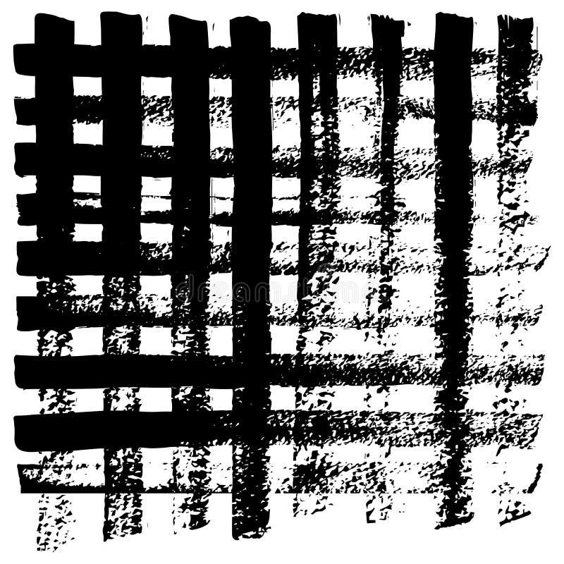 Líneas de los modelos y movimientos del cepillo libre illustration