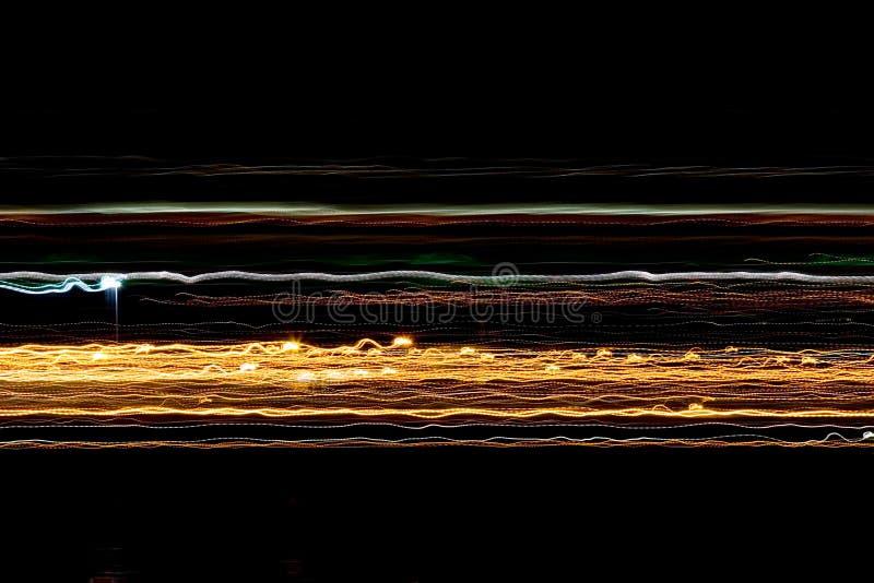 Líneas de luz foto de archivo libre de regalías