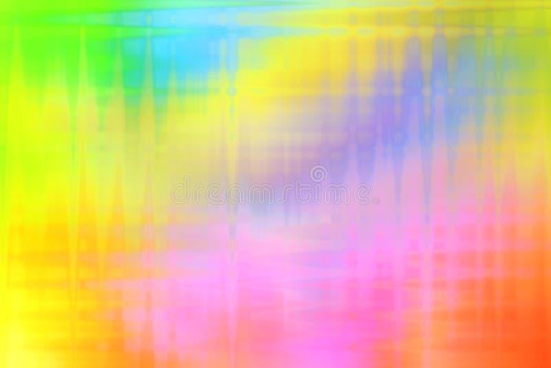 Líneas de luz lisas coloridas de la falta de definición fondo fotografía de archivo libre de regalías