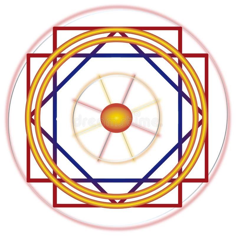 Líneas de Nazca ilustración del vector