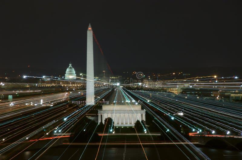 Líneas de potencia imagen de archivo libre de regalías