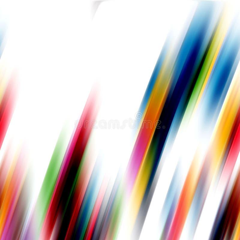 Líneas del arco iris, fondo abstracto foto de archivo