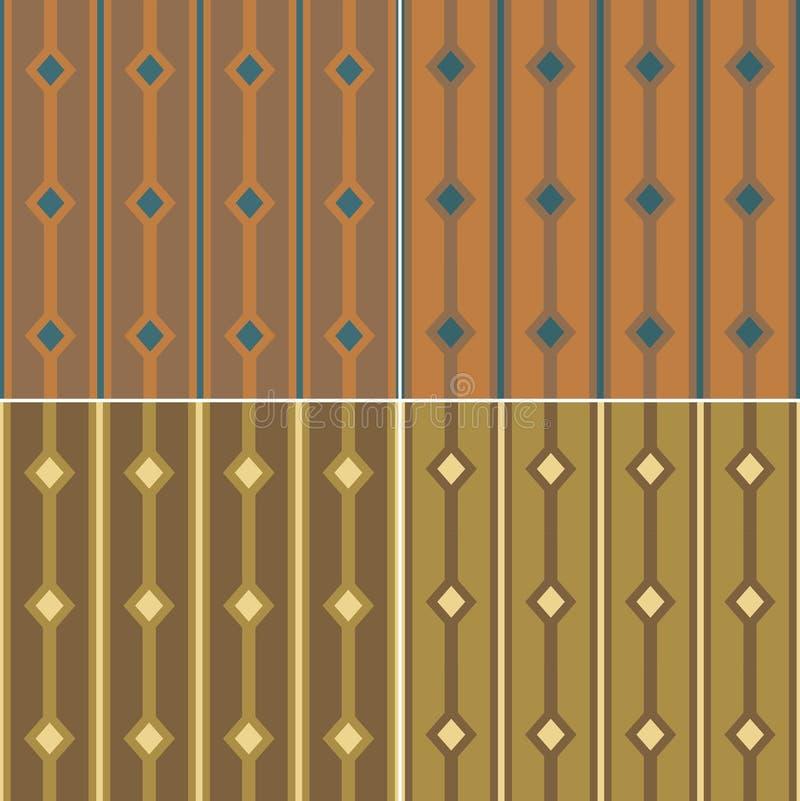 Líneas del diamante del modelo ilustración del vector