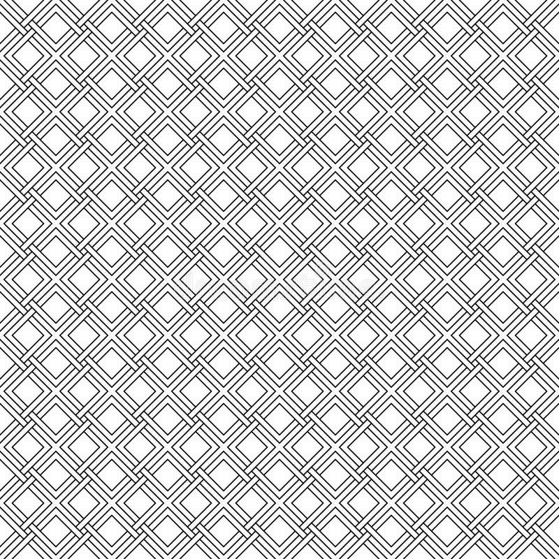 Líneas diagonales de la armadura gótica inconsútil del modelo, rayas libre illustration