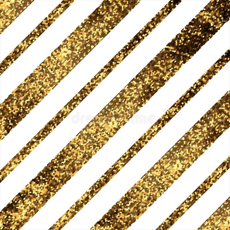 Líneas diagonales de oro libre illustration