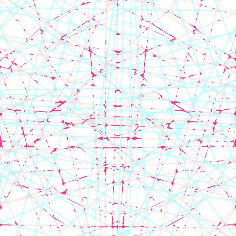 Líneas dinámicas fondo ilustración del vector