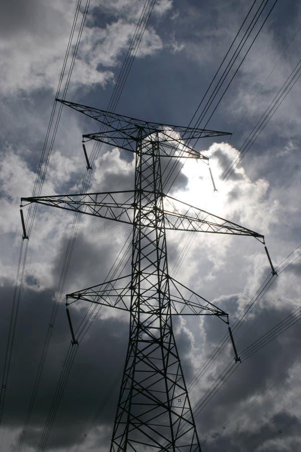 Download Líneas eléctricas imagen de archivo. Imagen de conexión - 188081