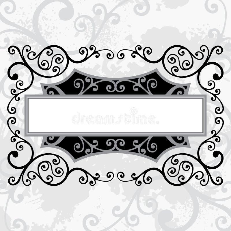 Líneas florales libre illustration