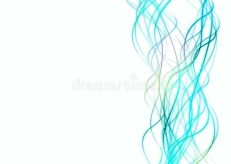 Líneas frescas stock de ilustración