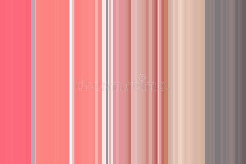 Líneas hermosas extracto del modelo del diseño de la textura del papel pintado del rosa del fondo de la raya del vintage para el  libre illustration