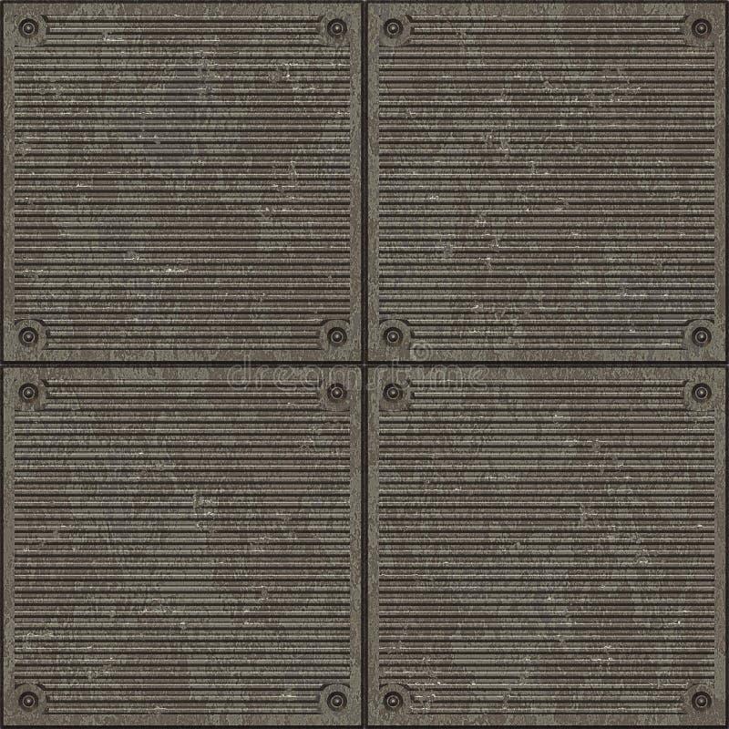 Líneas inconsútiles textura del pavimento stock de ilustración