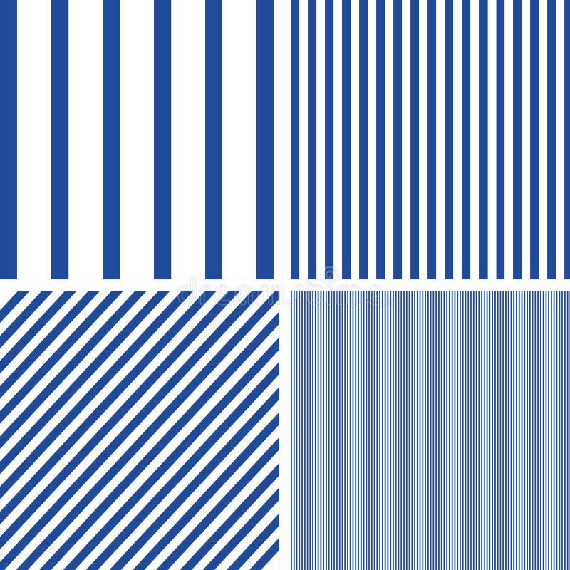 Líneas modelo Repita el fondo del vector de las rayas ilustración del vector