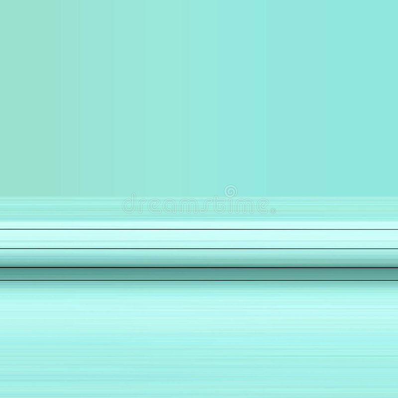 Líneas negras en modelo azul stock de ilustración