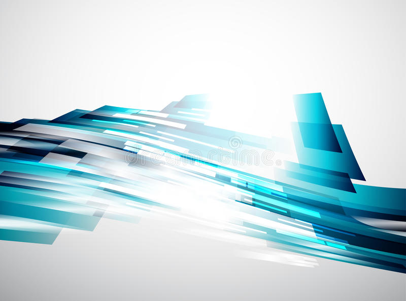 Líneas que fluyen fondo abstracto del vector ilustración del vector