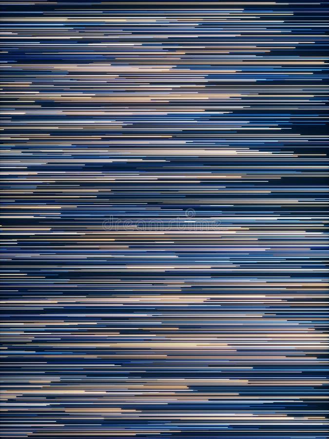 Líneas radiales abstractas fondo geométrico Flujo de datos De fibra ?ptica estrella de la explosi?n Efecto del movimiento stock de ilustración