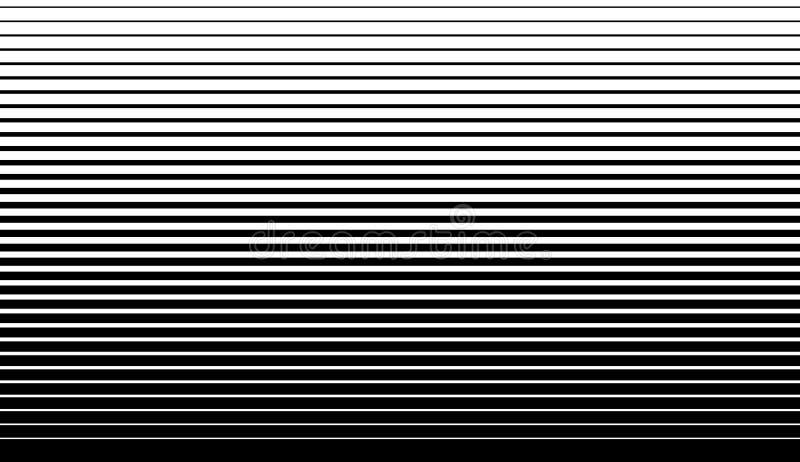 Líneas rectas paralelas textura geométrica del modelo monocromático libre illustration
