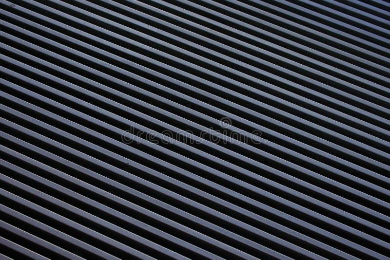 Líneas superficiales Grey Black Angle Optical Background fotografía de archivo libre de regalías
