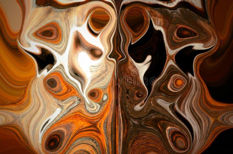 Líneas textura de Brown libre illustration