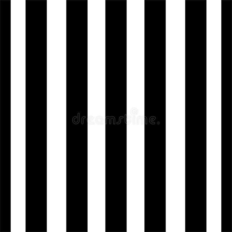 Líneas verticales modelo de los puntos inconsútiles del vector blanco y negro Papel pintado abstracto del fondo Ilustración del v ilustración del vector