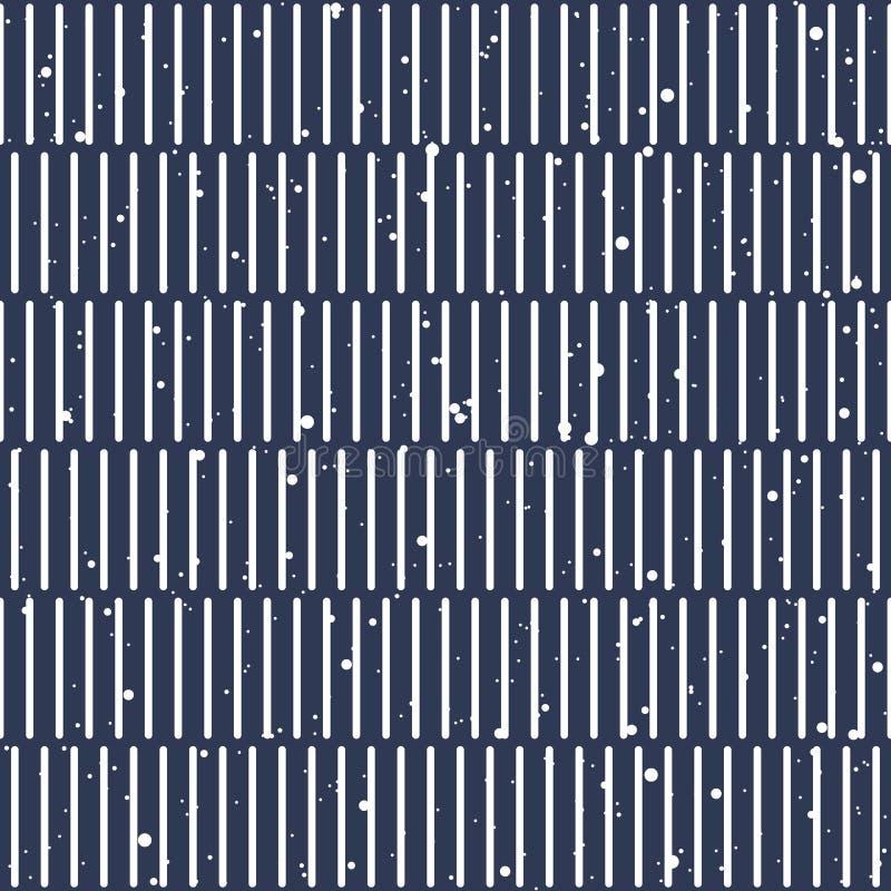 Líneas verticales vector inconsútil del modelo ilustración del vector