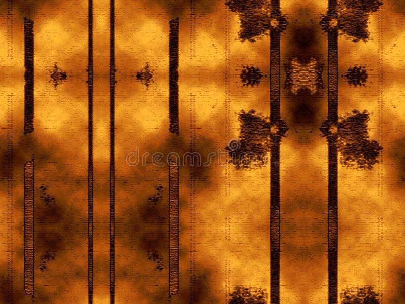 Líneas verticales y puntos del fondo abstracto