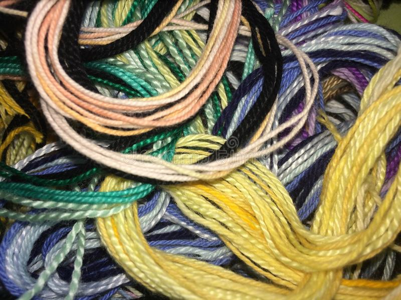 Lío de colores fotografía de archivo libre de regalías