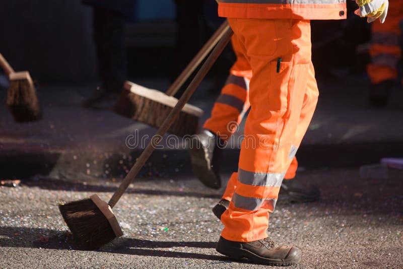 Líquido de limpeza de rua fotos de stock