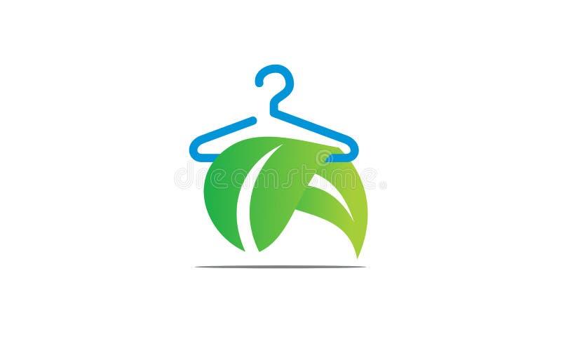 Líquido de limpeza seco da lavanderia de Eco ilustração royalty free