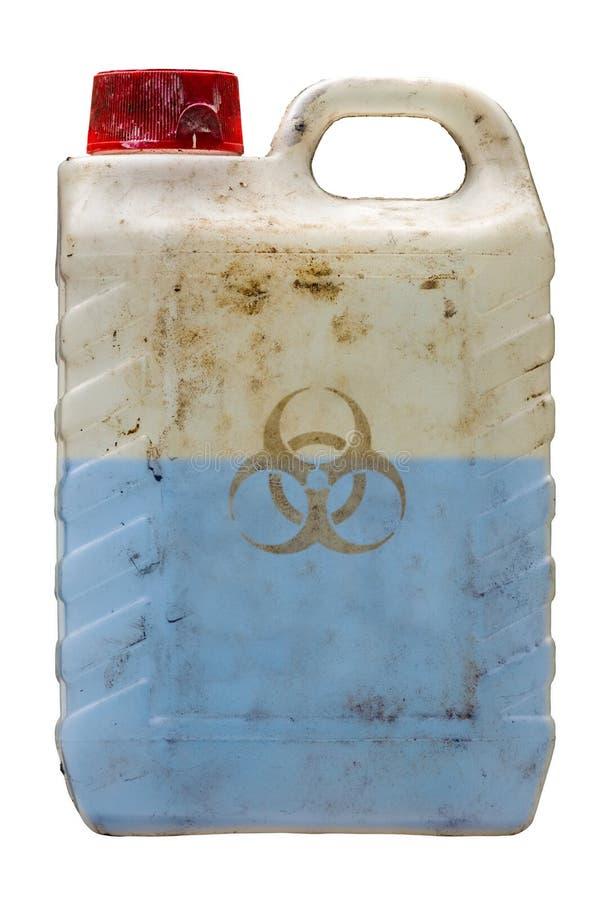 Líquido tóxico do Biohazard foto de stock royalty free