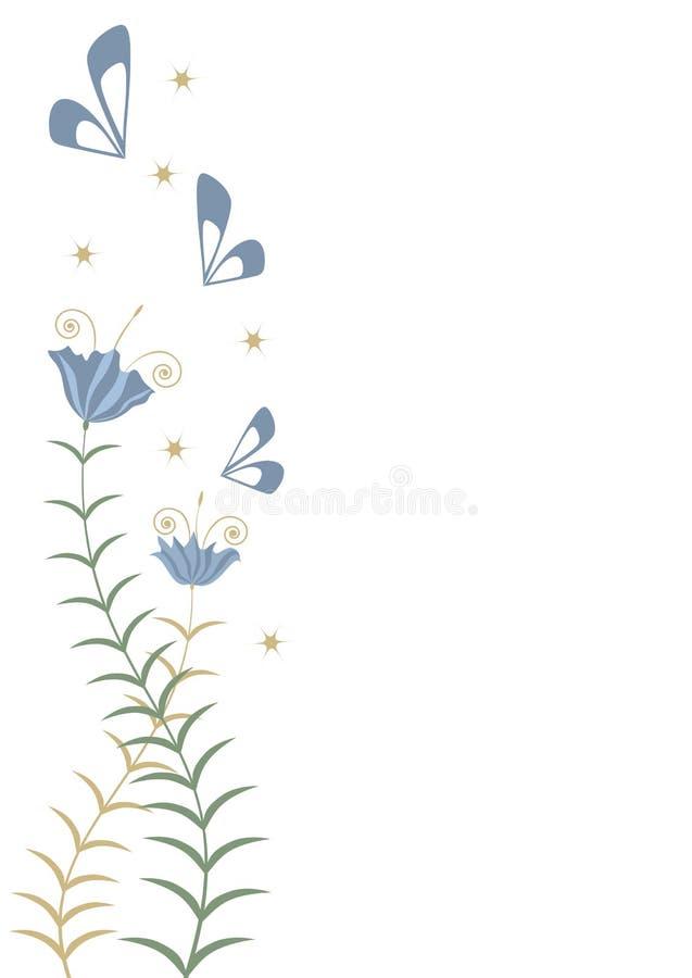 Lírios ilustração stock