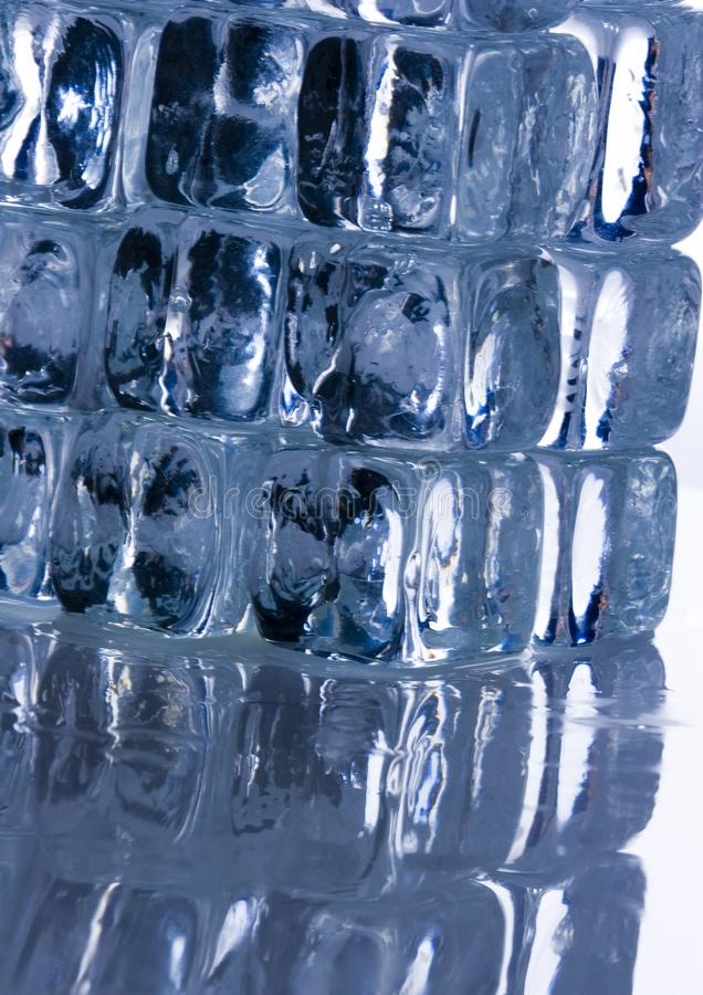 Lód obraz stock
