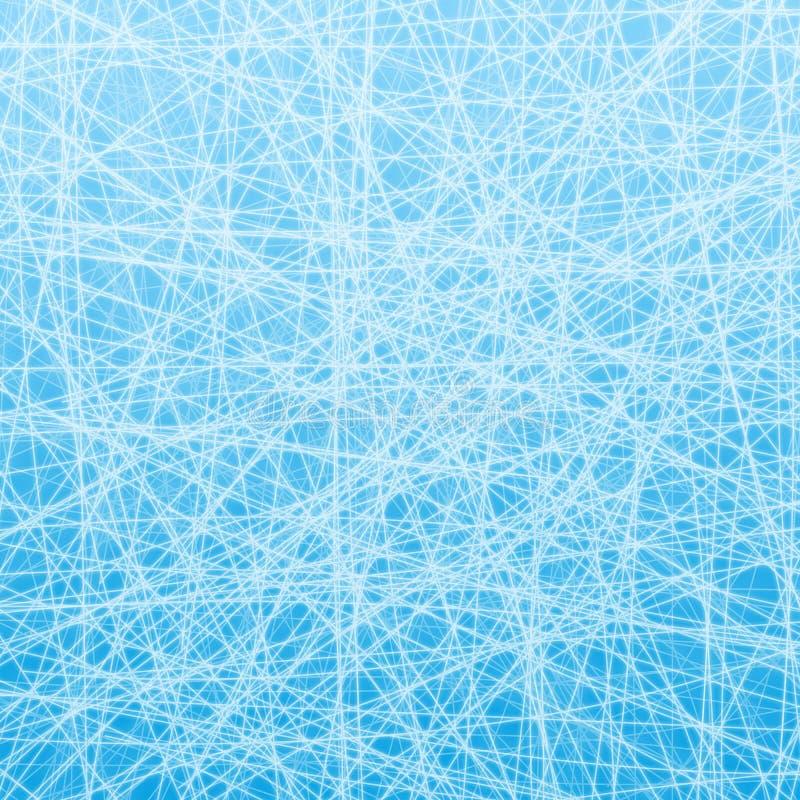 Lód linie ilustracja wektor